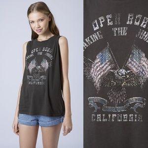 SOFT☁️Project Social T Open Road Cali Eagles Tank